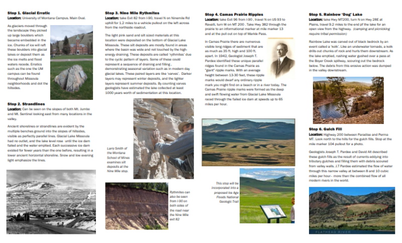 Glacial Lake Missoula – Ice Age Floods Institute
